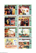 "Movie Posters:Science Fiction, The Monolith Monsters (Universal International, 1957). Lobby CardSet of 8 (11"" X 14""). When a huge meteor crashes in the de... (8items)"