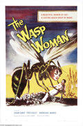 "Movie Posters:Science Fiction, The Wasp Woman (Film Group, Inc., 1959). One Sheet (27"" X 41""). Susan Cabot stars as a cosmetics company owner who tests the..."