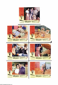 """Invasion of the Body Snatchers (Allied Artists, 1956). Partial Lobby Card Set 7 of 8 (11"""" X 14""""). Sinister evi..."""