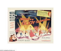 "Invasion of the Body Snatchers (Allied Artists, 1956). Half Sheet (22"" X 28"") Style B. The legendary ""Spo..."