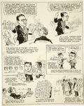 Original Comic Art:Comic Strip Art, Norman Ritchie - Editorial Cartoon Original Art (circa 1920s)....