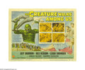 """Movie Posters:Science Fiction, The Creature Walks Among Us (Universal, 1956). Title Lobby Card(11"""" X 14""""). In this final sequel to """"The Creature From the ..."""