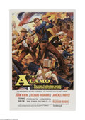 """Movie Posters:Western, The Alamo (United Artists, 1960). One Sheet (27"""" X 41""""). John Wayne leads an all-star cast in this reenactment of the thirte..."""