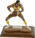 """Basketball Collectibles:Others, Wilt Chamberlain Signed Figurine. Great detail is on display withthe exceptional 11"""" figurine seen here that has been crea..."""