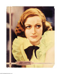 "Movie Posters:Romance, Joan Crawford Personality Poster (20th Century Fox, 1937). Half Sheet (22"" X 28""). This is one of the famous ""Personality Po..."