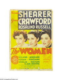 """The Women (MGM, 1939). Midget Window Card (8"""" X 11""""). Director George Cukor leads a world of women in this fil..."""
