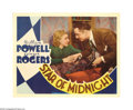"""Movie Posters:Comedy, Star of Midnight (RKO, 1935). Lobby Card (11"""" X 14""""). Madedeliberately in the """"Thin Man"""" formula, this film stars the lead..."""
