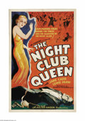 "Movie Posters:Drama, Night Club Queen (Olympic Pictures Inc, 1934). One Sheet (27"" X41""). The British ""sister"" firm of Universal Pictures, Twick..."
