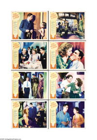 """Girl Without a Room (Paramount, 1933). Lobby Card Set of 8 (11"""" X 14""""). Charles Farrell, Charlie Ruggles and M..."""