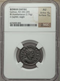 Ancients:Ancient Lots  , Ancients: ANCIENT LOTS. Roman Imperial. Ca. AD 276-285. Lot of two(2) BI antoniniani. NGC XF-AU.... (Total: 2 coins)
