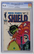Silver Age (1956-1969):Superhero, Nick Fury, Agent of SHIELD #5 (Marvel, 1968) CGC NM 9.4 Off-white to white pages....