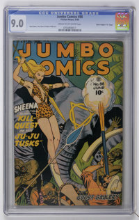 "Jumbo Comics #88 Davis Crippen (""D"" Copy) pedigree (Fiction House, 1946) CGC VF/NM 9.0 Cream to off-white page..."