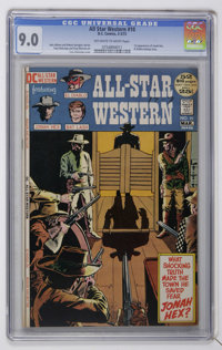 All-Star Western #10 (DC, 1972) CGC VF/NM 9.0 Off-white to white pages