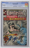Silver Age (1956-1969):Superhero, Fantastic Four #33 (Marvel, 1964) CGC NM- 9.2 Off-white to white pages....