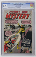Silver Age (1956-1969):Superhero, Journey Into Mystery #88 (Marvel, 1963) CGC FN+ 6.5 Cream to off-white pages....