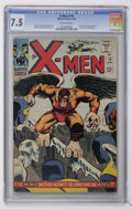 Silver Age (1956-1969):Superhero, X-Men #19 (Marvel, 1966) CGC VF- 7.5 Off-white pages....