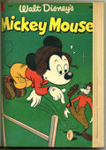 Golden Age (1938-1955):Funny Animal, Mickey Mouse #28-39 Bound Volume (Dell, 1953-55)....