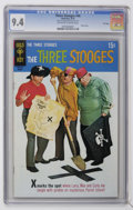 Bronze Age (1970-1979):Humor, Three Stooges #46 File Copy (Gold Key, 1970) CGC NM 9.4 Off-white to white pages. ...