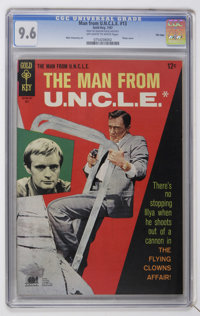 Man from U.N.C.L.E. #13 File Copy (Gold Key, 1967) CGC NM+ 9.6 Off-white to white pages