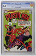 Silver Age (1956-1969):Superhero, Plastic Man #1 (DC, 1966) CGC VF+ 8.5 Off-white to white pages....