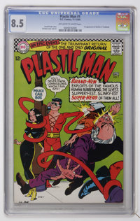 Plastic Man #1 (DC, 1966) CGC VF+ 8.5 Off-white to white pages