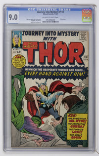 Journey Into Mystery #110 (Marvel, 1964) CGC VF/NM 9.0 Off-white to white pages