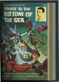 Voyage to the Bottom of the Sea #1-14 and Others Bound Volume (Gold Key, 1964-68)