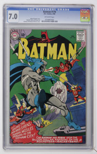 Batman #178 (DC, 1966) CGC FN/VF 7.0 Off-white pages