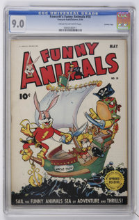 Fawcett's Funny Animals #18 Crowley Copy pedigree (Fawcett, 1944) CGC VF/NM 9.0 Cream to off-white pages
