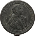 Political:Small Miscellaneous (pre-1896), Zachary Taylor: Pewter Field or Shaving Mirror....