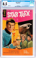 Silver Age (1956-1969):Science Fiction, Star Trek #1 (Gold Key, 1967) CGC VF+ 8.5 White pages....