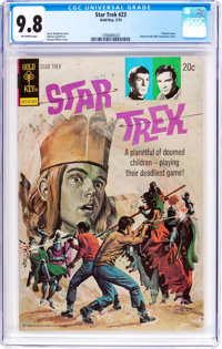 Star Trek #23 (Gold Key, 1974) CGC NM/MT 9.8 Off-white pages