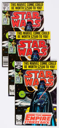 Modern Age (1980-Present):Science Fiction, Star Wars Group of 34 (Marvel, 1980-81) Condition: Average FN....(Total: 34 Comic Books)