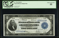 Fr. 756 $2 1918 Federal Reserve Bank Note PCGS Choice About New 55