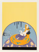 Erté (Romain de Tirtoff) (Russian/French, 1892-1990) After the Rain, 1979 Screenprint in colors on wove paper 27-...