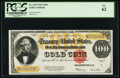Large Size:Gold Certificates, Fr. 1215 $100 1922 Gold Certificate PCGS New 62.