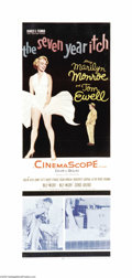 """Movie Posters:Comedy, The Seven Year Itch (20th Century Fox, 1955.) Insert (14"""" X 36"""").Billy Wilder directed this amusing sex farce about the tem..."""