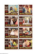 """Movie Posters:Romance, Roman Holiday (Paramount, 1953). Lobby Card Set of 8 (11"""" X 14"""").This romantic comedy stars the twenty-four-year-old Audrey... (8items)"""