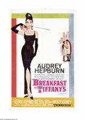 "Movie Posters:Comedy, Breakfast At Tiffany's (Paramount, 1961). One Sheet (27"" X 41"").Audrey Hepburn stars in Truman Capote's story of the offbea..."