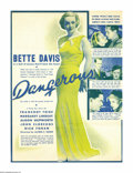 Movie Posters:Drama, Bette Davis Lot (Warner Brothers, 1930s). Heralds (4). During hercareer Bette Davis was nominated eleven times by the Motio... (4items)