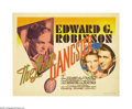 """Movie Posters:Crime, The Last Gangster (MGM, 1937) Title Lobby Card (11"""" X 14""""). Thistitle card displays a wonderful image of Edward G. Robinson..."""