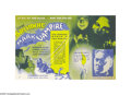 """Movie Posters:Horror, Mark of the Vampire (MGM, 1935). Herald (7"""" X 11""""). Director Tod Browning (""""Dracula"""") directed Bela Lugosi and the young Car..."""