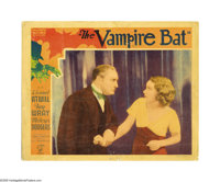 "The Vampire Bat (Majestic Pictures Inc., 1933). Lobby Card (11"" X 14""). Lionel Atwill and King Kong's famous g..."