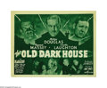"Movie Posters:Horror, The Old Dark House (Universal, R-1939). Title Lobby Card (11"" X14""). Demand for any paper from this early Universal horror ..."