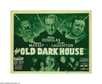 "The Old Dark House (Universal, R-1939). Title Lobby Card (11"" X 14""). Demand for any paper from this early Uni..."