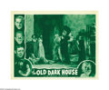 "Movie Posters:Horror, The Old Dark House (Universal, R-1939). Lobby Cards (2) (11"" X14""). Carl Laemmle, Jr., whose long list of credits include ""... (2items)"