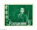 "Movie Posters:Horror, The Old Dark House (Universal, R-1939). Lobby Cards (2) (11"" X14""). ""Frankenstein"" director James Whale led a superb cast i... (2items)"