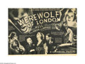 "Movie Posters:Horror, The Werewolf of London (Universal, 1935.) Herald (9.75"" X 14"").This film was Universal's first production on lycanthropy. H..."
