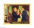 """Movie Posters:Horror, WereWolf of London (Universal, 1935). Lobby Card (11"""" X 14""""). Thisis one of the original horror classics from Universal Stu..."""