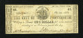 Obsoletes By State:New Hampshire, Portsmouth, NH- City of Portsmouth $1 Oct. 29, 1862. ...